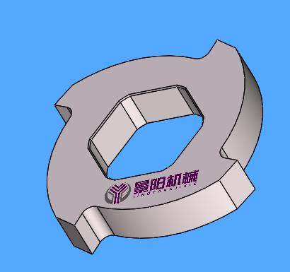 大型物料/废钢撕碎机刀片主要用于物料的初步破碎,对材质的韧性要求较高